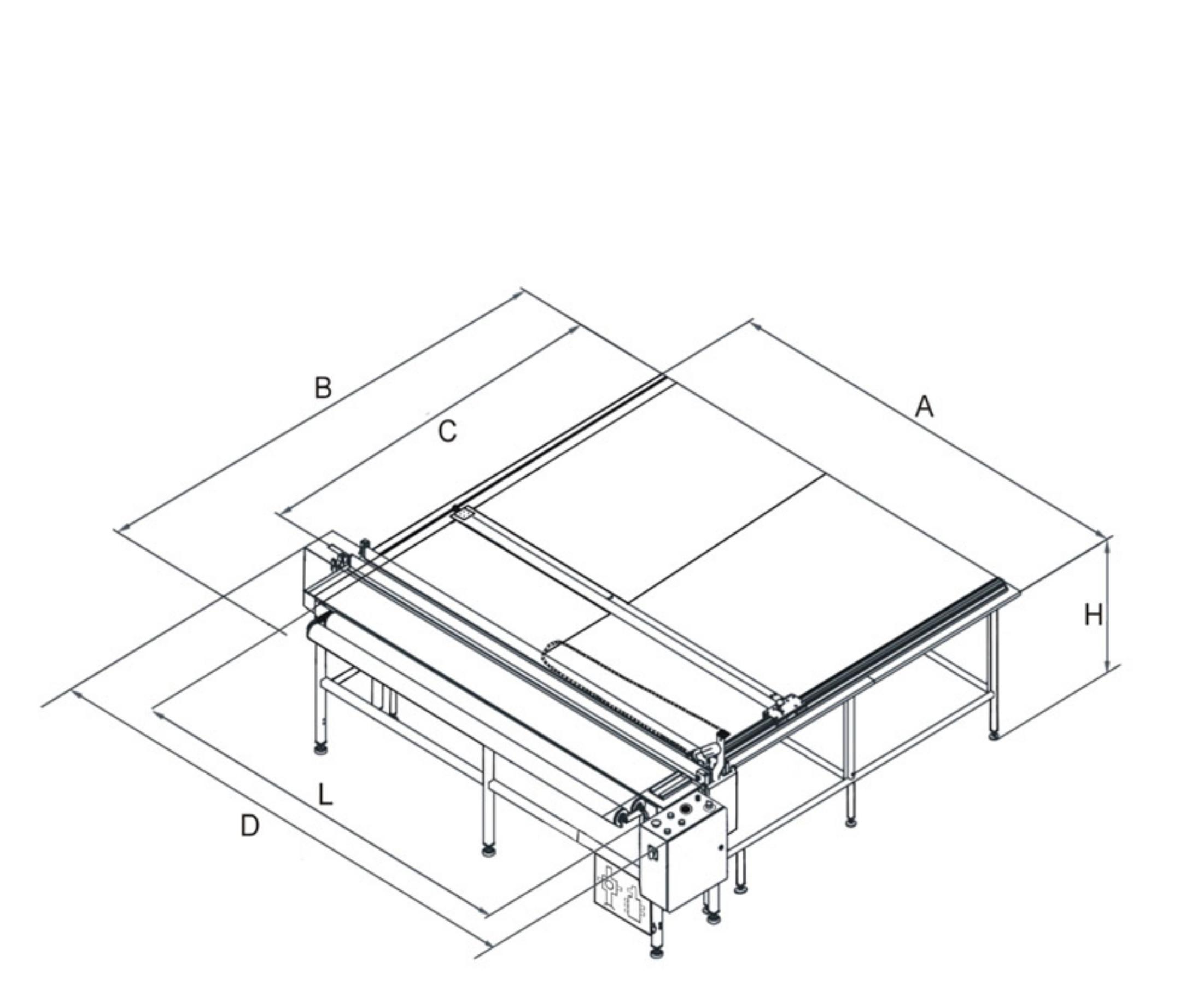Stół pneumatyczny do poligrafii SEISMOTION